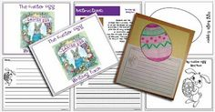 Free Activity Pack for The Easter Egg by Jan Brett