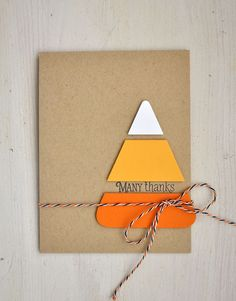 Quick, easy and adorable Halloween cards.