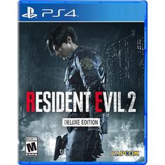 Get Resident Evil 2 release date (Xbox One, cover art, overview and trailer. The genre-defining masterpiece Resident Evil 2 returns, completely rebuilt from the ground up for a deeper narrative experience. Using Capcom?s proprietary RE Engine, Resident. Playstation Consoles, Pc Ps4, Playstation Games, Xbox One Games, Ps4 Games, News Games, Video Games, Games Consoles, Zombies
