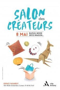 Hélène SCHILD expose ses créations de Bijoux STRATAGEMME Salon des Créateurs 2017 - Antony (92) Creations, Living Room, Novelty Signs