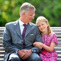 King Philippe and Crown Princess Elisabeth of Belgium