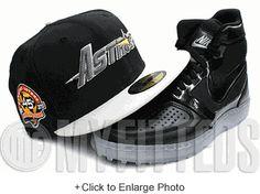 Houston Astros 45th Anniversary Black Sand Stone Peach Orange New Era Hat UP NOW ON MYFITTEDS.COM