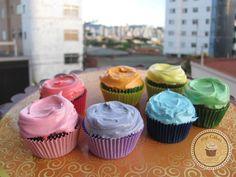 Cupcakes Top Cakes - Aquarela https://www.facebook.com/danielletopcakes
