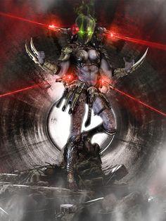 Predator with 4 laser canons Alien Vs Predator, Predator Costume, Wolf Predator, Predator Movie, Predator Alien, Horror Movie Tattoos, Aliens Movie, Alien Creatures, Marvel