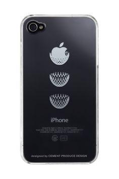 iTatoo(アイタトゥー)iPhone4ケース Dress it 2940yen iPhoneのリンゴで遊ぼう