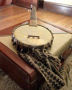 Instrument Gallery - Peggy's Banjo . . #banjo #instamusic #instrument #music…