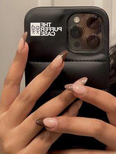 Best Acrylic Nails, Acrylic Nail Designs, Stylish Nails, Trendy Nails, Milky Nails, Gel Nails, Nail Polish, Really Cute Nails, Acylic Nails