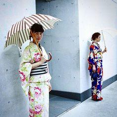対策  やっぱり日傘は まだまだ必要です  #着物 #日傘 #夏 #japan #kimono #otsukagofukuten  #大塚呉服店 #ルミネ #洗える着物  #コシラ… http://ift.tt/1JpkJqr
