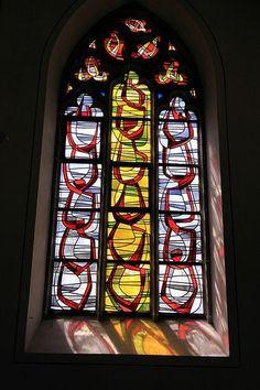 Herz-Jesu-Kirche - Kirchenfenster - Halle Westfalen 01