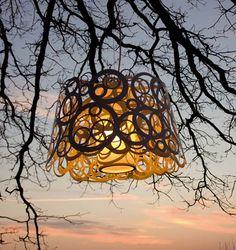 Homemade Light Fixture Ideas | ... Outdoor Lighting Design Hanging Lamp Ideas - Gayenk dot Com