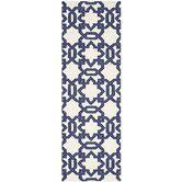Found it at Wayfair - Dhurries Ivory/Purple Area Rug
