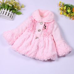widgeon girls coats light pink