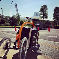 映画Bikes vs Cars上映会にカーゴバイクを展示します簡単な試乗会も行えたらと思いますのでご興味あれば是非#DAGASTROKE #cargobike #カーゴバイク #みなとみらい #ブリリアショートシアター http://ift.tt/2xLhBCj