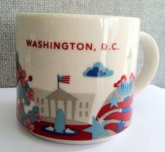 Starbucks City Mug You Are Here In Washington D.C.