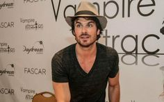 Ian Somerhalder at Vampire Attraction Con in Brazil (05/02/15)