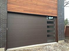 Garage Door Conversion - Wooden Garage Doors. #garagestorage, #garagefloor, #mancavegarage. Want to know more about Garage Doors  Simply click here to get more information... Wooden Garage Doors, Man Cave Garage, Garage Storage, Garages, Wood Garage Doors, Garage Organization, Garage, Garage House