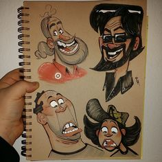 Doodlin peeps #sketch #characterdesign #copics | Use Instagram online! Websta is the Best Instagram Web Viewer!