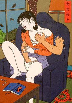 japanese sex  Illustration