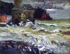 bofransson: Stormy Day Wassily Kandinsky - 1906