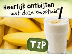 Havermout banaan smoothie