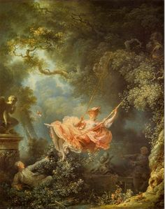 Jean-Honoré Fragonnard, The Swing, 1767, oil on canvas, 81 x 64 cm (Wallace Collection, London)