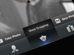 Nice iOS button design found on Dribbble.