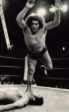 aaaaaahhh...Andre the Giant... one of my chidhood heroes