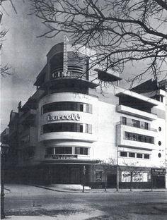 Antiguo cinema europa en la calle bravo murillo madrid en la actualidad es un almacen de - Ferreteria ortiz interiorismo madrid ...
