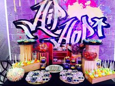 235 Best Hip Hop Graffiti Party Images In 2019 13 Birthday Parties