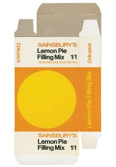 Sainsbury's and packaging Retro Packaging, Food Packaging, Brand Packaging, Product Packaging, Packaging Ideas, Packaging Stickers, Design Packaging, Logo Design, Print Design