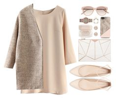 """""""Neutral Autumn"""" by grapecar1015 ❤ liked on Polyvore featuring moda, Chicwish, J.O.A., 10 Bells, Zara, Witchery, Marc by Marc Jacobs, Elie Saab, polyvorecontest e longsleevedress"""