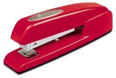 classic red stapler