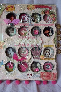 Cute idea! Altered Coin Book by littlejunkshop, via Flickr