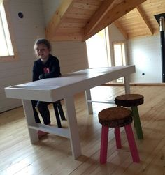 Ana White | Build a Art Play Table for the Cabin | Free and Easy DIY Project and Furniture Plans