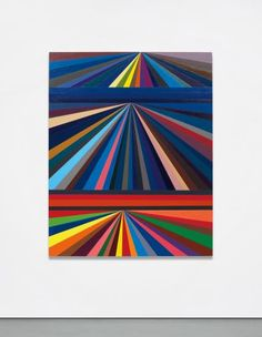 MARK GROTJAHN Untitled (Three-Tiered Perspective) , 2000