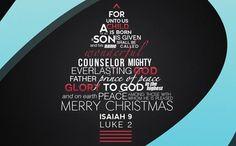 #christmas #typography
