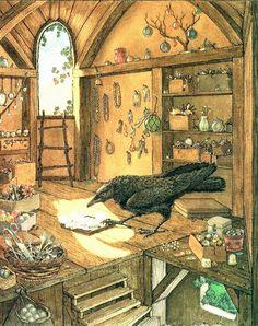 L'Assommoir — Carmine the Crow by Heidi Holder