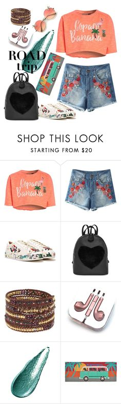 """road trip"" by andreea001 ❤ liked on Polyvore featuring Nasty Gal, Chan Luu, PhunkeeTree, Giorgio Armani and Liora Manné"