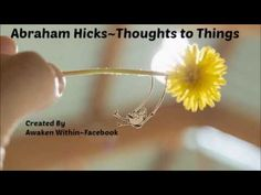 Abraham Hicks~ The manifested feeling is all you need.                                                                                                                                                                                 More