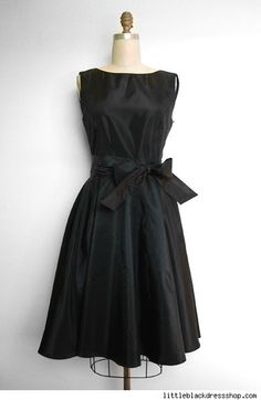 Little Black Dresses for Women | Can play down a large chest and give you a more hour glass figure
