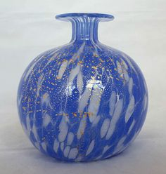 "#Murano~#Italy~Blue~White~Clear~Gold~Hand-Blown~#Art #Glass~#Vase~3.25""H by seraphimslair on Etsy See my #Etsy #Twitter #Facebook & #Instagram for an array of beautiful #art #glass #collectibles & #gifts! https://www.ebay.co.uk/usr/seraphimslair2 https://twitter.com/Seraphimslair https://www.instagram.com/seraphimslair5stars/ https://www.etsy.com/uk/shop/seraphimslair https://www.facebook.com/seraphimslair/"