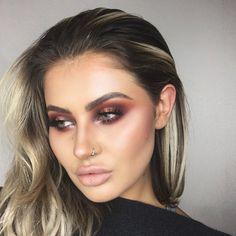 Jamie Genevieve Jaclyn Hill morphe palette look