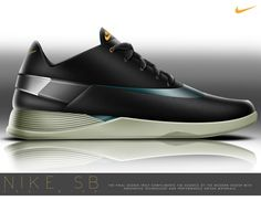 Nike SB Pro Wind | Performance Skate Shoe by Andrew Little, via Behance