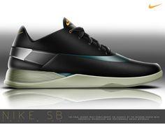 Nike SB Pro Wind   Performance Skate Shoe by Andrew Little, via Behance