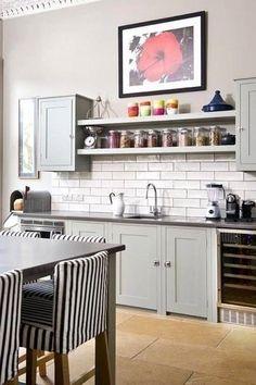 Küchenregale, Viktorianische Küche, Wohnideen, Entwurf, Regale