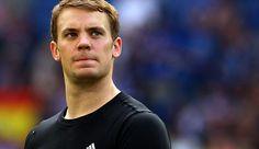 German footbal goalie Manuel Neuer