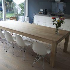 Houten tafel: Alpha