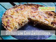 Kuchen muss nicht immer süß sein - unser deftiger Zwiebelkuchen schmeckt unglaublich lecker, ist super sättigend und ist natürlich Low Carb!