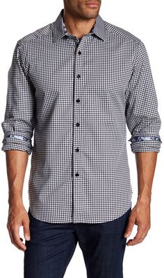 Robert Graham Sputnik 2 Printed Woven Classic Fit Shirt