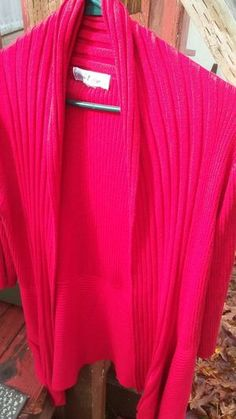 Once 1 again red figure flattering sweater